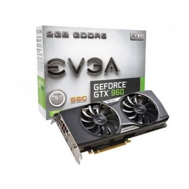 Placa de Vídeo Evga Gtx 960 2gb Ddr5 02g-p4-2966-kr