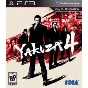 10086690439 Game Yakuza 4 PS3