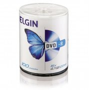 82050 Mídia DVD-R Elgin 4.7GB 120min 100 unid.