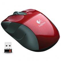 Mouse Wireless Laser 1000 Dpis M525 Vermelho 910-002697 Logitech
