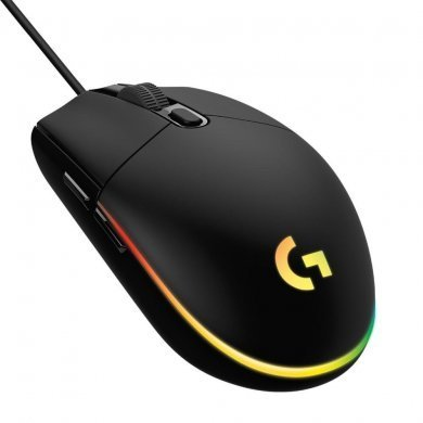 Mouse Usb Óptico Led 6000 Dpis Lightsync G203 910-005793 Logitech