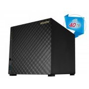 AS3104T Asustor NAS 4 Baias Sata3 At� 40TB