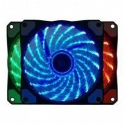 BF06RGBCASE1 Bluecase Fan Led RGB 7 cores 120mm