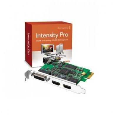 Blackmagic Design Intensity Pro 4k Pcie 4 Lane Video Capture Card Internal Tv Tuner Video Editing Cards