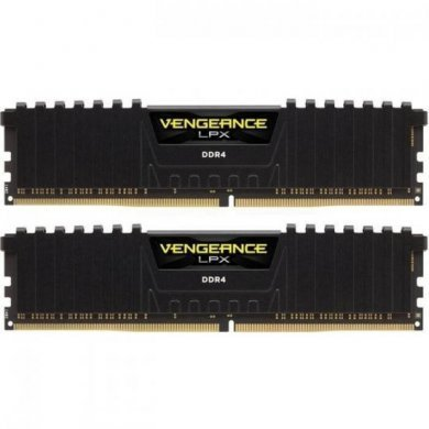 Memória Ram Vengeance Lpx Black 8gb Kit(2x4gb) Ddr4 2400mhz Cmk8gx4m2a2400c14 Corsair