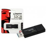 DT100G3/32GB Kingston Pen Drive 32GB USB3.0 Gera��o 3