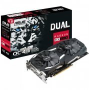 DUAL-RX580-O4G Asus Placa de Video Radeon RX 580 4GB