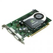 GP528AA Placa de Video HP NVidia QUADRO FX370 256MB 64Bit, PCI Express x16, Dual Monitor DVI-I, PN: GP528AA
