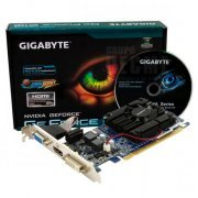 GV-N210D3-1GI Placa de Video Gigabyte GeForce 210