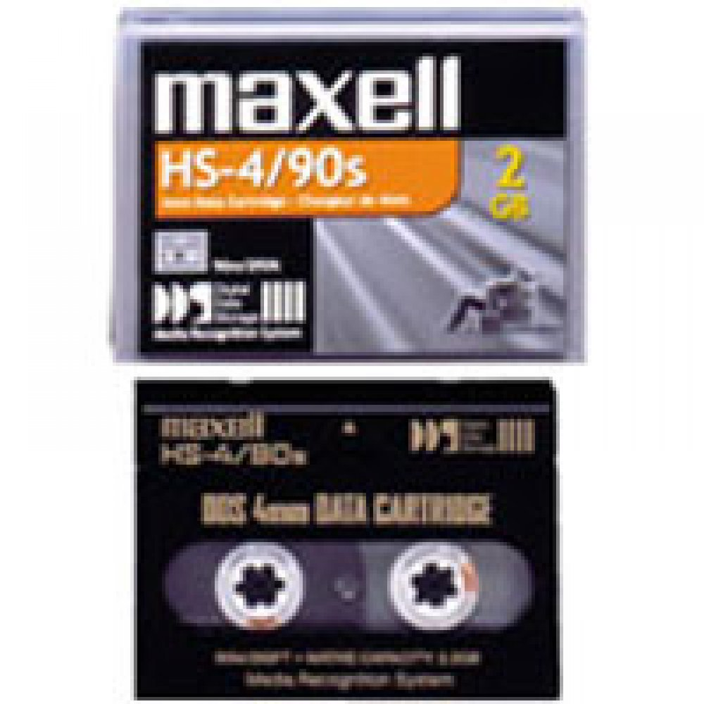 HS-4/90S Fita DAT Maxell HS-4/90