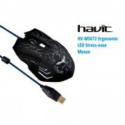 HV-MS672 HAVIT MOUSE GAMER ILUMINADO 2400 DPI USB