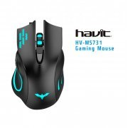 HV-MS731 Havit Mouse Gamer Iluminado 2400 DPI USB
