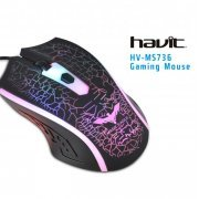 HV-MS736 Havit Mouse Gaming USB Iluminado