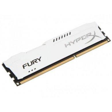 Memória Ram Hyperx Fury White 8gb Ddr3 1866mhz Hx318c10fw/8 Kingston