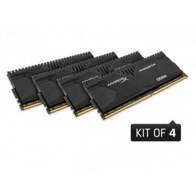 Memória Ram Hyperx Predator 16gb Kit(4x4gb) Ddr4 2400mhz Hx424c12pb2k4/16 Kingston