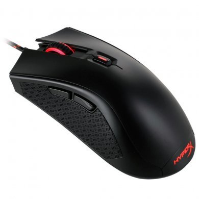 Mouse Usb Óptico Led 3200 Dpis Gamer Pulsefire Fps Switches Omron Hx-mc001a/am Hyperx