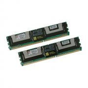KVR667D2D4F5K2/8G Mem�ria FB-DIMM Kingston 8GB (2x 4GB)
