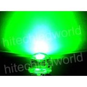 LED8mm0.5WStrarhatGreen LED Verde High Power 8mm 0.5W 3.2V Max: 3.4V,