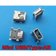 MINIUSB-5PIN Mini USB 5 Pinos Femea Socket SMT