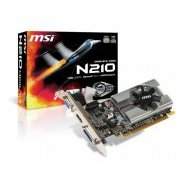 N210-MD1G/D3 MSI Placa de video Geforce N210 1GB DDR3