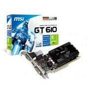 N610-2GD3/LP MSI Placa de video Geforce GT610 2GB