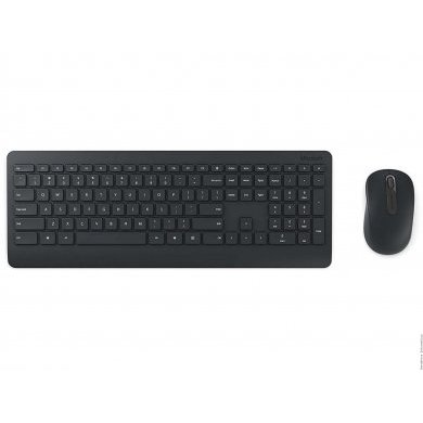 Kit Teclado e Mouse Wireless Óptico Led 1000 Dpis Desktop 900 Pt3-00005 Microsoft