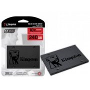 SA400S37/240G Kingston SSD 240GB A400 2.5 Pol SATA III 6Gbs