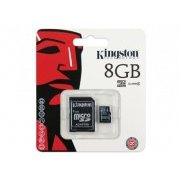 SDC4/8GB Cart�o Kingston Micro SDHC 8GB Classe 4