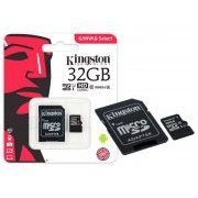 SDCS/32GB Kingston Cart�o de Memoria 32GB Micro SDXC 4K