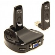 SWP100A Warpia Wireless PC to TV Video Adapter