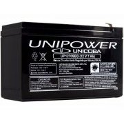 UP1270SEG Unicoba Bateria Unipower 12V 7Ah F187
