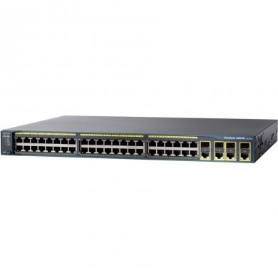 Switch Com 48 Portas Ws-c2960x-48fps-lb Cisco